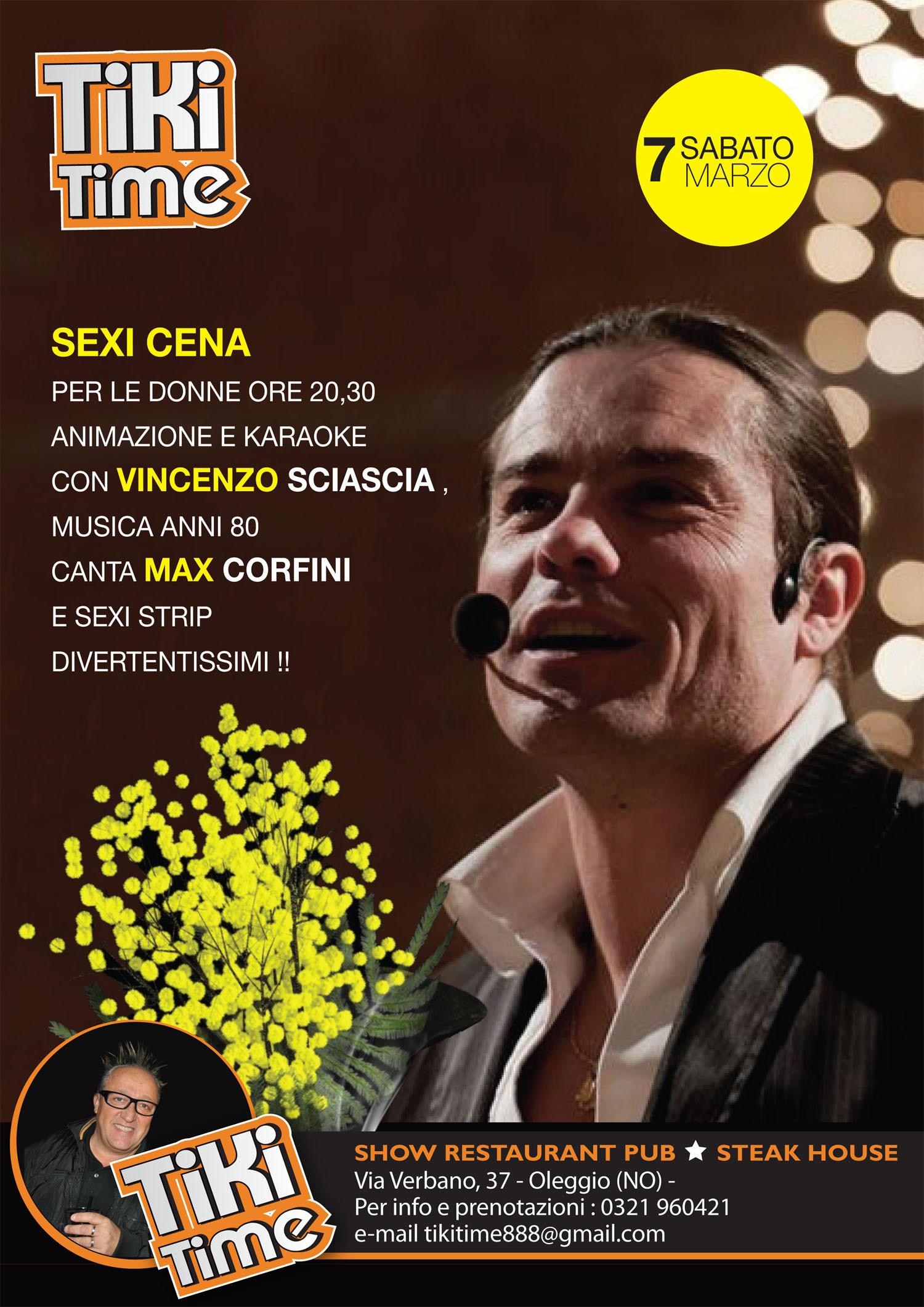 Marseglia Splendente E Strip Al Tiki Per La Festa Della Donna