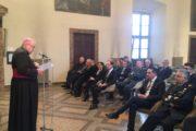 Il Vescovo incontra le autorità: «Ci vuole misericordia dinanzi ai volti della povertà, del terremoto, dei migranti»