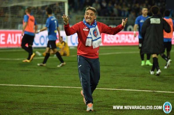 Il Novara è salvo, una stagione in viaggio: dalla paura al sogno play-off