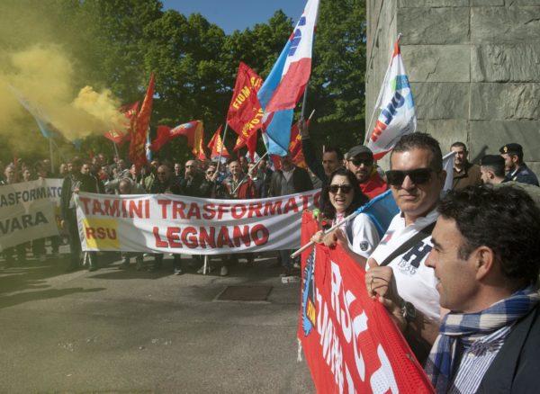 Manifestazione dei dipendenti Tamini. Il 4, al Mise, per il piano industriale