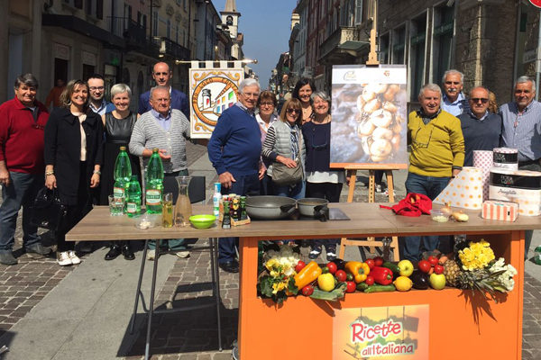 """La Pro Loco di Fontaneto a """"Ricette all'italiana"""""""