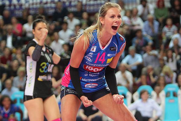 Igor Volley, gara uno della semifinale è azzurra: 3-1 sul Casalmaggiore