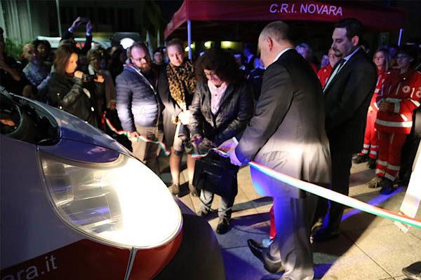 Croce Rossa Novara: inaugurazione di due nuove unità mobili