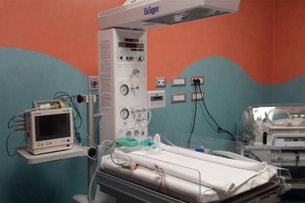 Nuove sale parto al Maggiore, ospedale