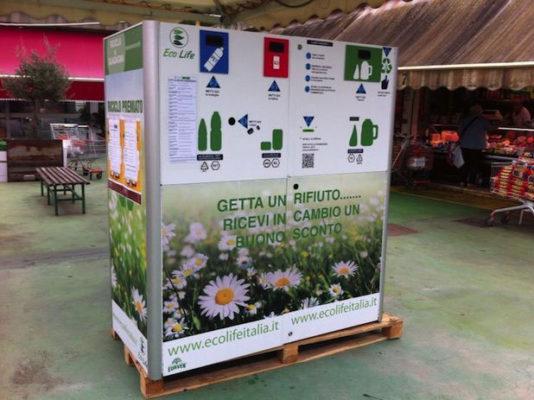 Raccolta automatica dei rifiuti: ecco un esempio