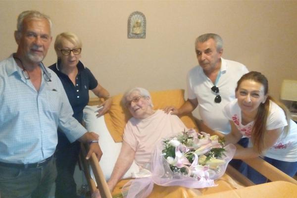 Festa al Villaggio Dalmazia: Domenica compie 101 anni