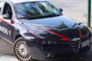 Tenta di rubare un'auto. Arrestato dai Carabinieri