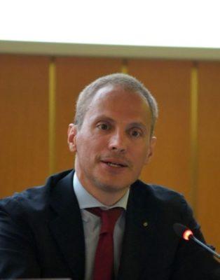 Fabio Ravanelli, presidente Ain Novara