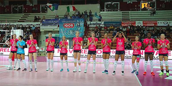 La rosa completa Igor Volley Novara ed i numeri ufficiali