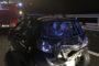 Incidente stradale lungo l'autostrada A4: coinvolti donna in gravidanza e bimbo di 2 anni