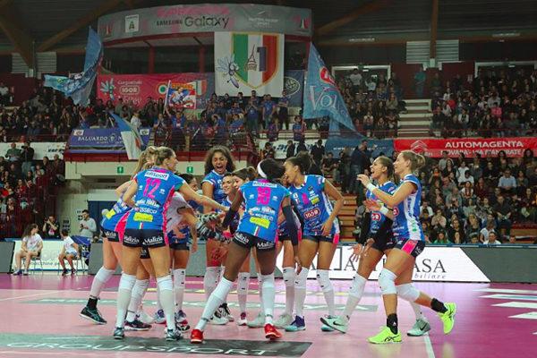Pala Igor stracolmo, forza ragazze, Novara è con voi!