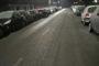 Via della Riotta: al mattino ...una lastra di ghiaccio