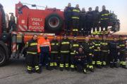 Gemellaggio tra i Vigili del Fuoco di Novara e i Sapeurs Pompiers francesi