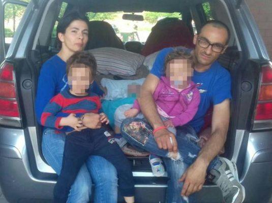 Da Borgomanero, l'offerta di un appartamento per la famiglia torinese che vive in auto