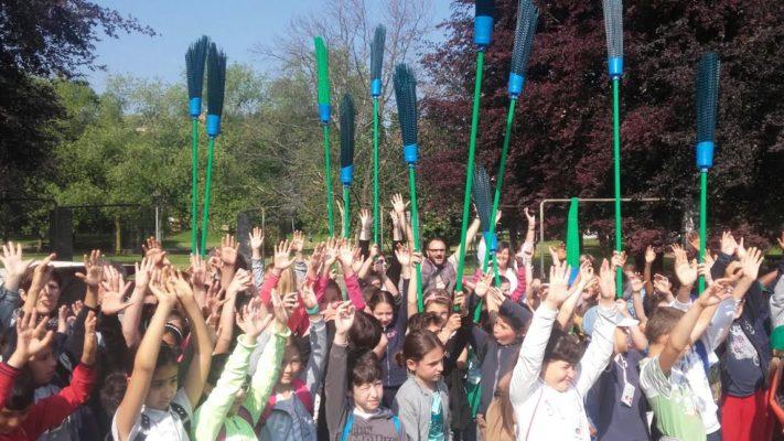 Bambini in festa al Parco delle Betulle. Le foto