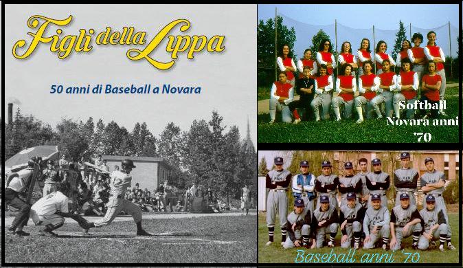 """""""Figli della Lippa"""" la storia di come è nato il baseball a Novara"""