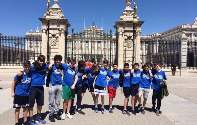 Il College Novara al campionato Europeo U15 di basket