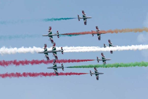 Riassunto per immagini ed emozioni di una tre giorni d'orgoglio tricolore