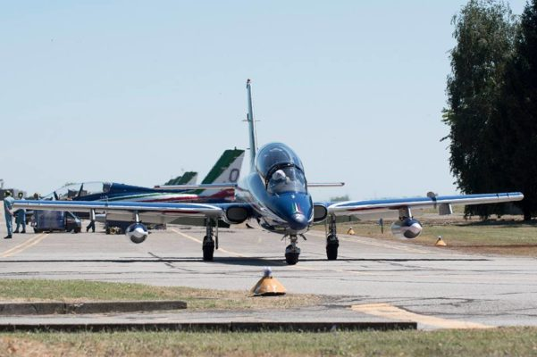 Base Cameri frecce tricolori efficienza Arona Air Show