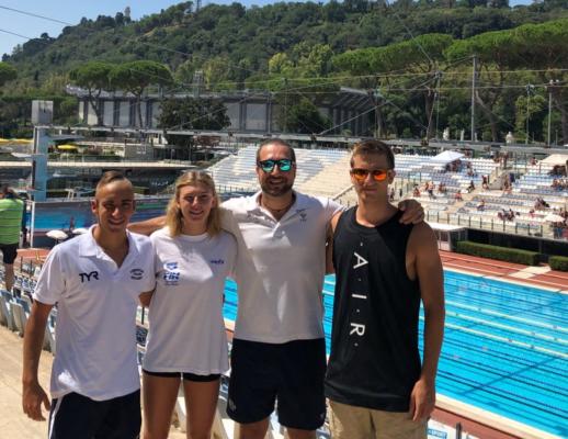 Un bella Libertas Novara ai campionati italiani estivi di nuoto