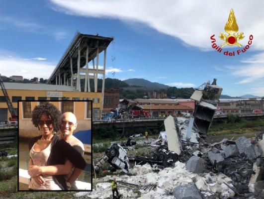 C'è una famiglia di Oleggio dispersa sotto le macerie del ponte Morandi