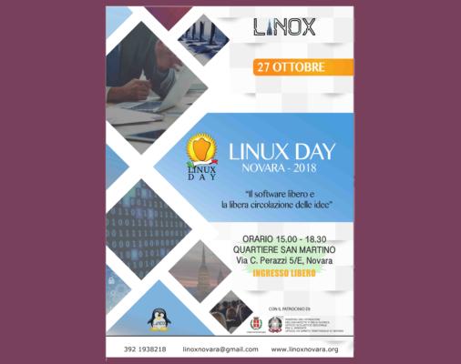 Linux Day Novara software libero