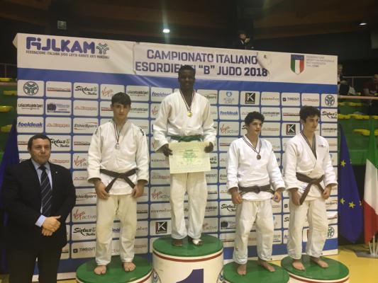 Marco Vestali argento Zoe Sirica Centro Judo Novara Campionati Italiani