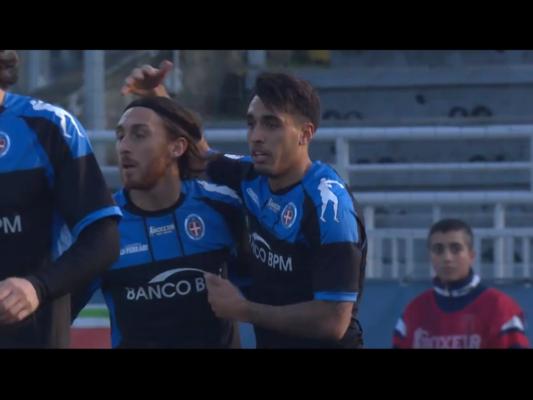 Novara-Pisa 3-2 Coppa Italia