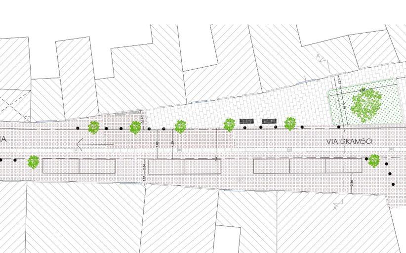 Trecate, restyling del centro storico: da mercoledì lavori in via Gramsci
