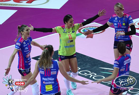 Novara vince 1-3 a Bergamo e si rimette in marcia