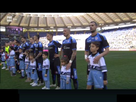 La Lazio sistema tutto in un tempo, poi con il rigore di Eusepi l'onore è salvo