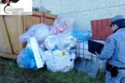 Nibbiola, sequestrati rifiuti da demolizione