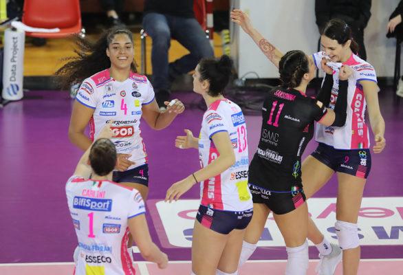 Filottrano Igor Volley Novara 0-3 serie A1