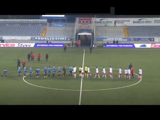 Novara Piacenza 0-0 serie C Lega Pro