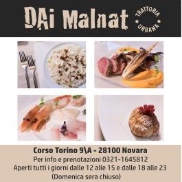 Osteria Dai Malnat, Novara