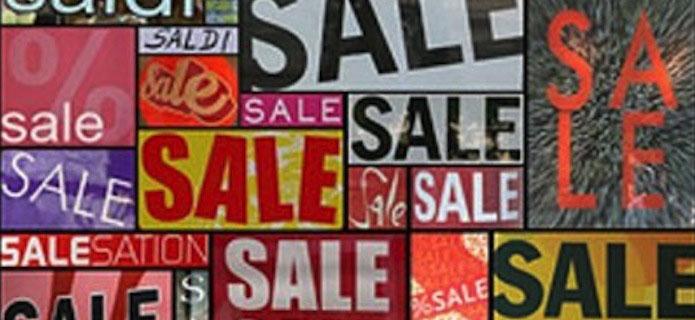 Dal 5 luglio, prezzi pazzi e saldi nel Novarese