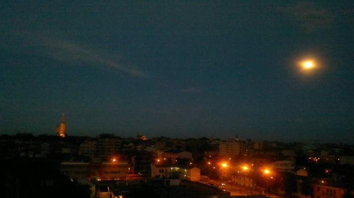 Novara e la luna
