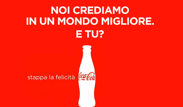 Emozioni riprese dalle telecamere di sicurezza per Coca Cola