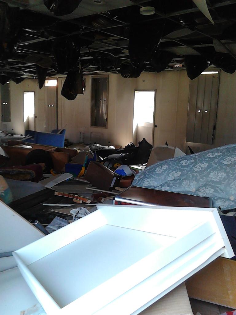 ExCampo TAV - Interno baracche 1