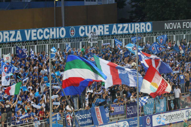 Curva Nord Novara Calcio: «Siamo ultras non criminali»
