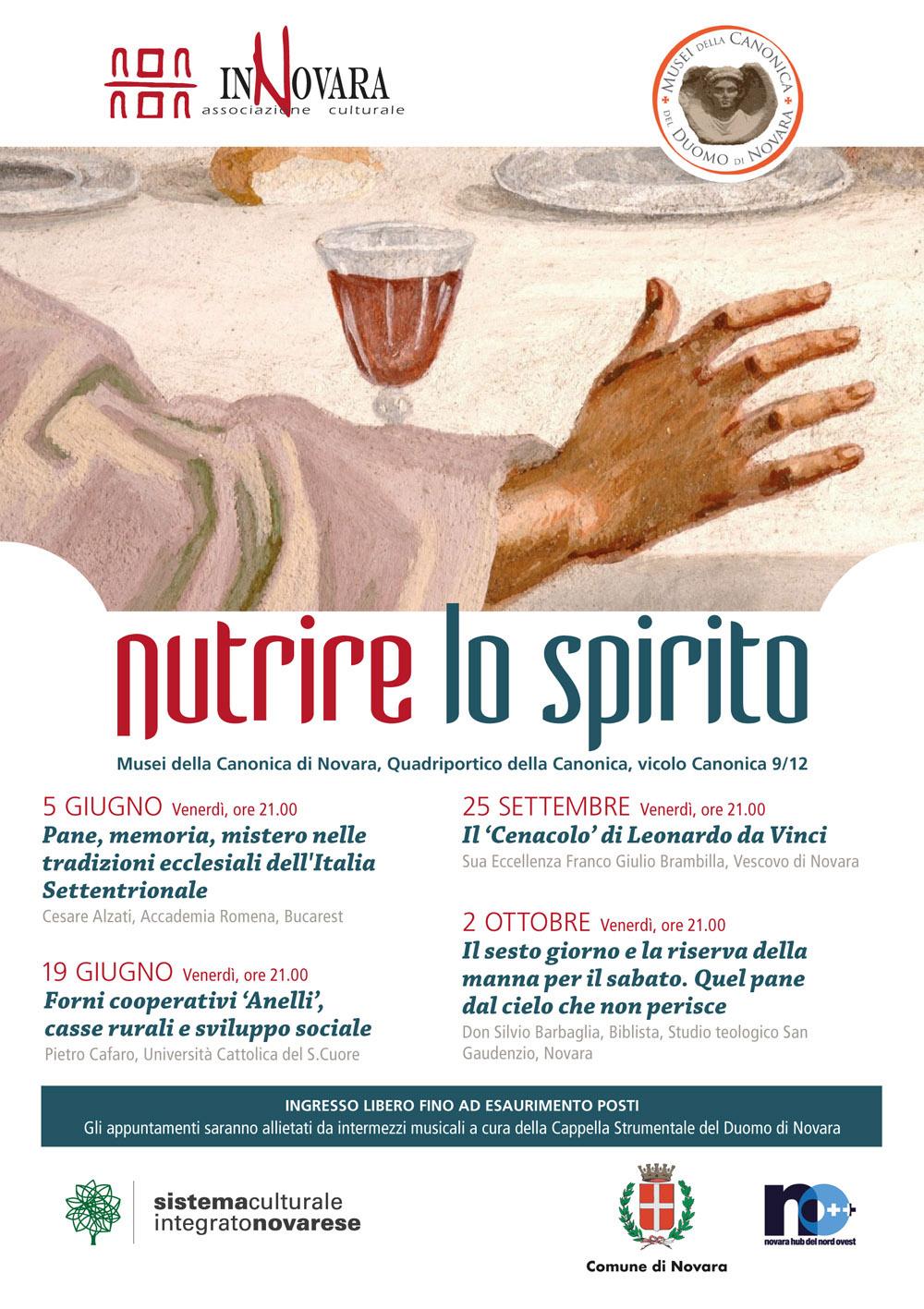 InNovara - Flyer 148x210 - Nutrire lo spirito + Programma Maggio