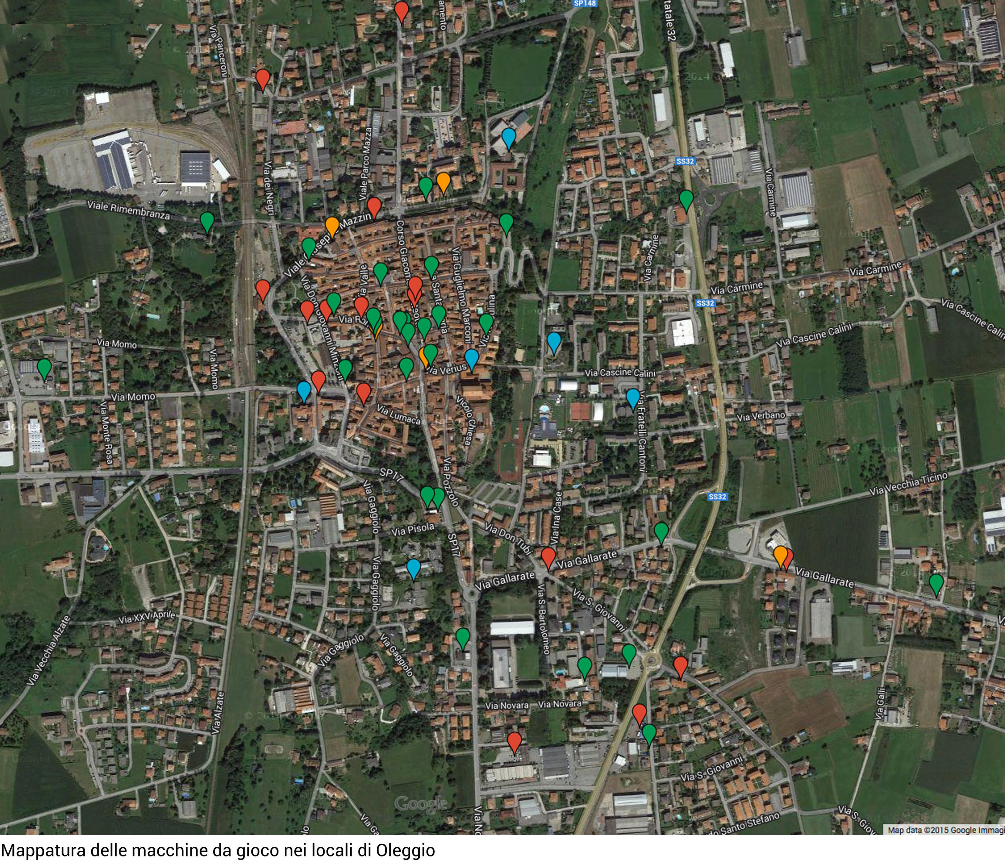 mappature slot