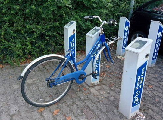 Bike sharing rotto