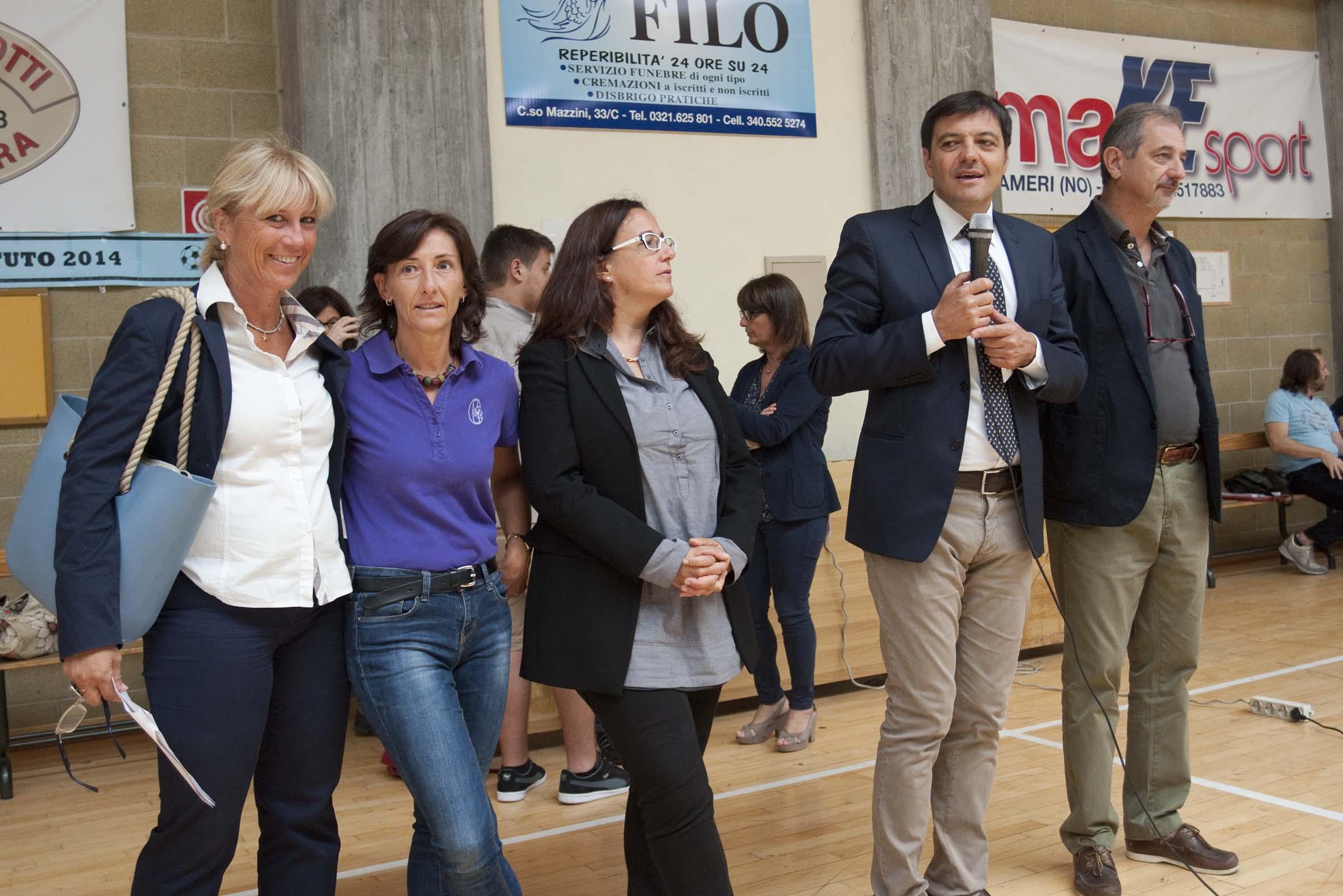 Rodari di Oleggio: primo giorno di scuola con inaugurazione della nuova struttura