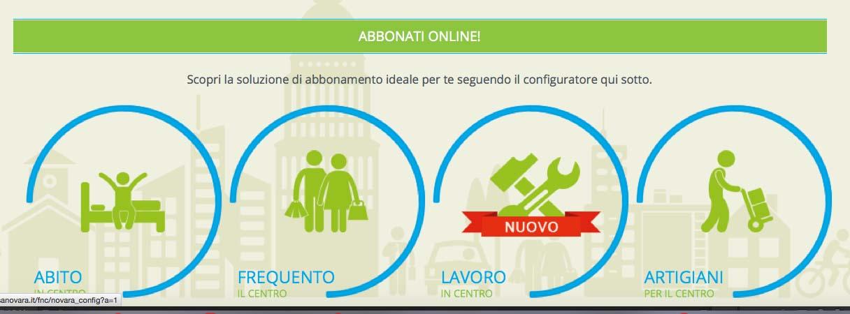 abbonamento online