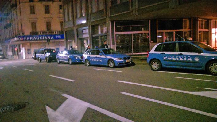 """Venerdì sera di controlli della Polizia in città . La """"movida"""" novarese supera il test"""