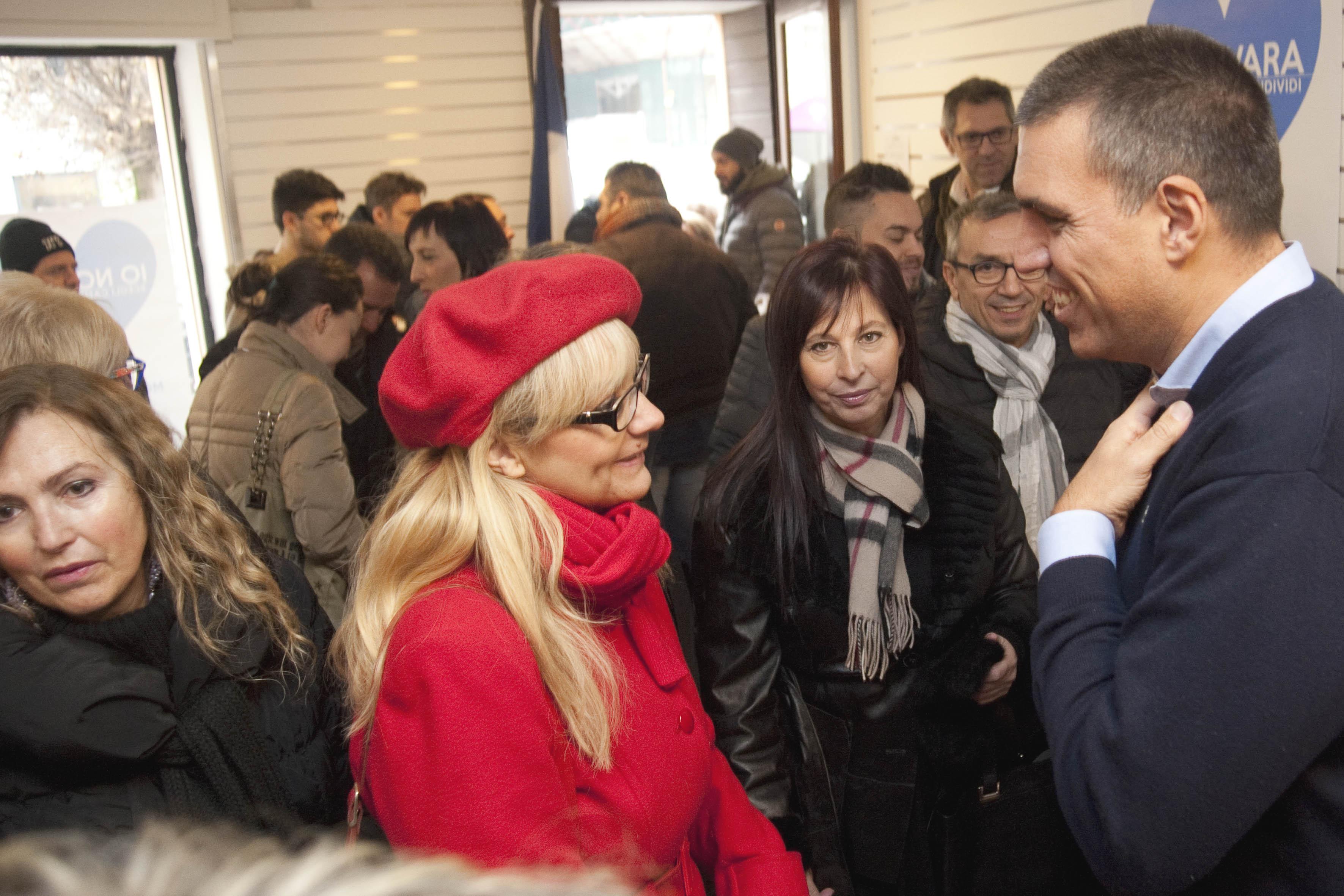 Nulla di nuovo dopo l'arrivo di Salvini a Novara