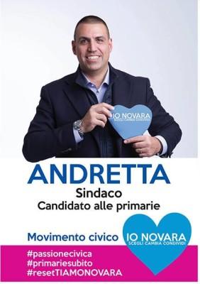 Manifesto Io Novara - Andretta