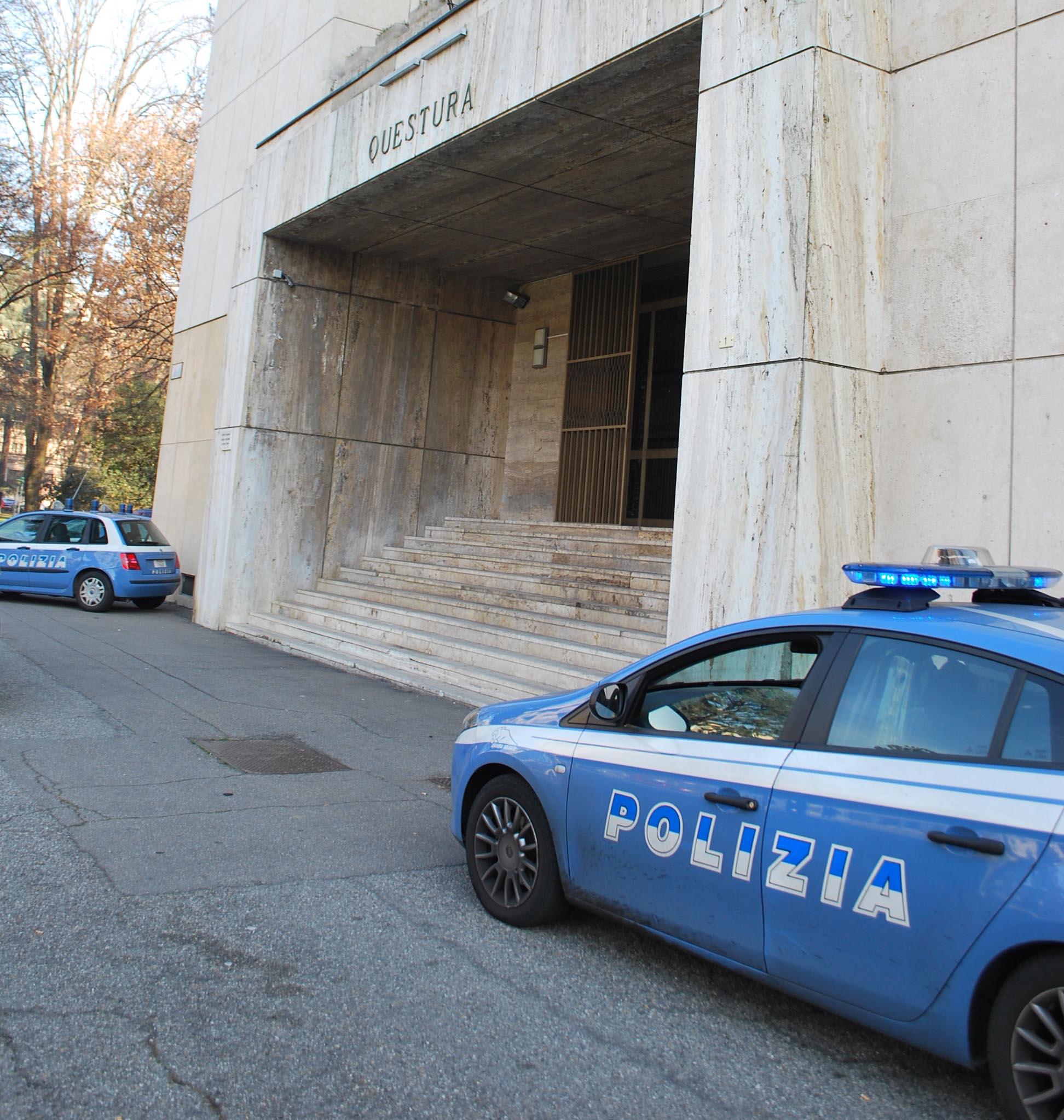 polizia evidenza