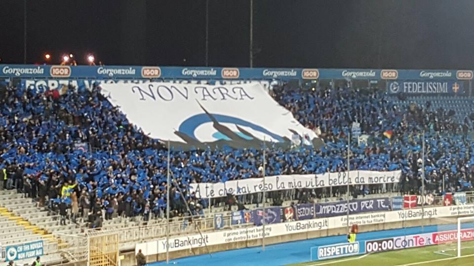 Neanche il derby guarisce gli azzurri: fra Novara e Pro finisce 1-1. Per gli azzurri un pari che non risolve i problemi...